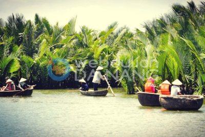 Tour rừng dừa bảy mẫu đón Đà Nẵng