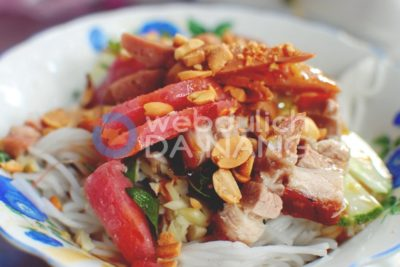 Bún mắm Đà Nẵng món ăn không thể thiếu khi du lịch Đà Nẵng